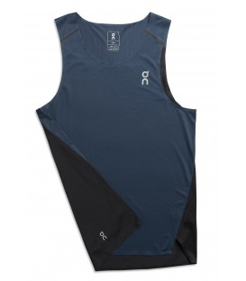 Tricou alergare On Tank-T Navy BLK 2018