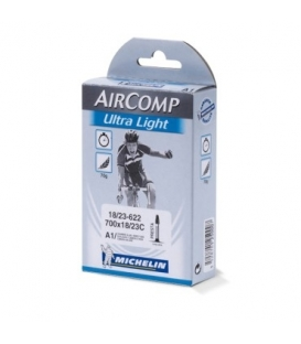 Cameră Michelin Aircomp Ultralight A1 700x18/23C