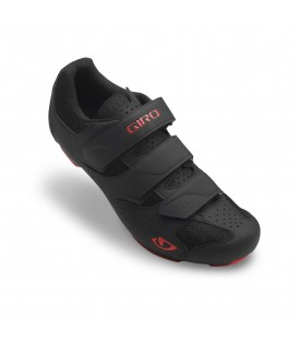Pantofi ciclism Giro Rev black bright red