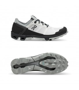 Pantofi alergare dama On Cloudventure Peak white black