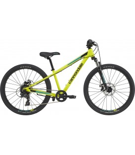 Bicicleta de copii Cannondale Trail 24 2020 neon yellow